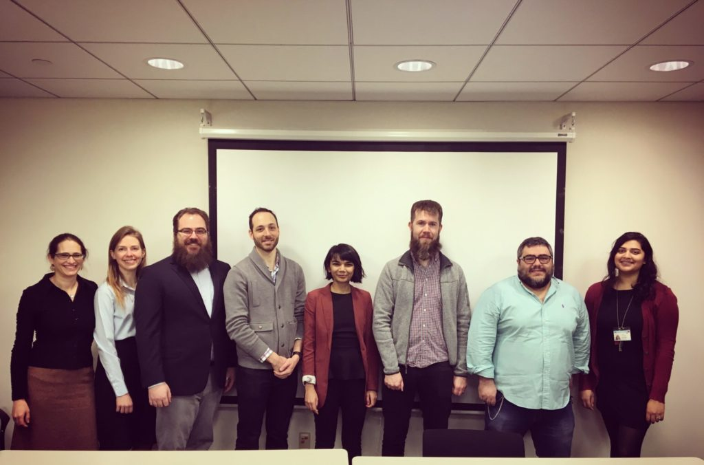 February 25 2019: First Bargaining Session of CPW-UAW  with Columbia's administration. Click to Read Our Bargaining Goals