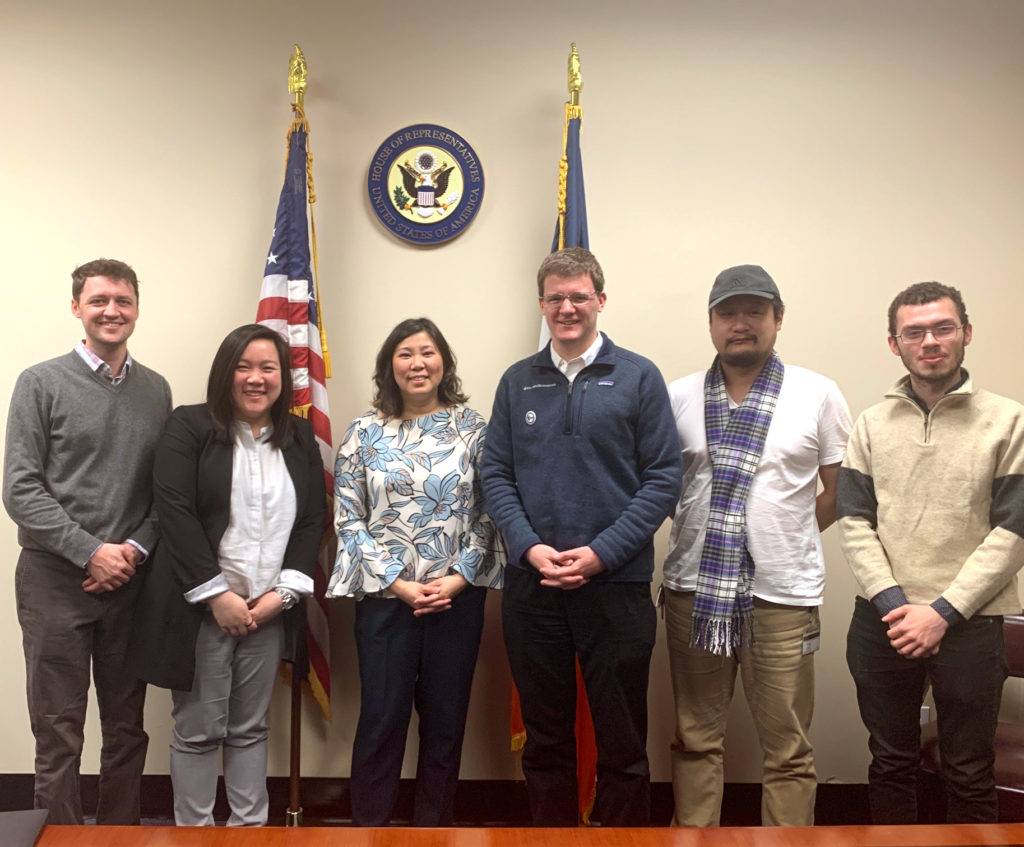 January 17: CPW-UAW and GWC-UAW members met with Congresswoman Grace Meng