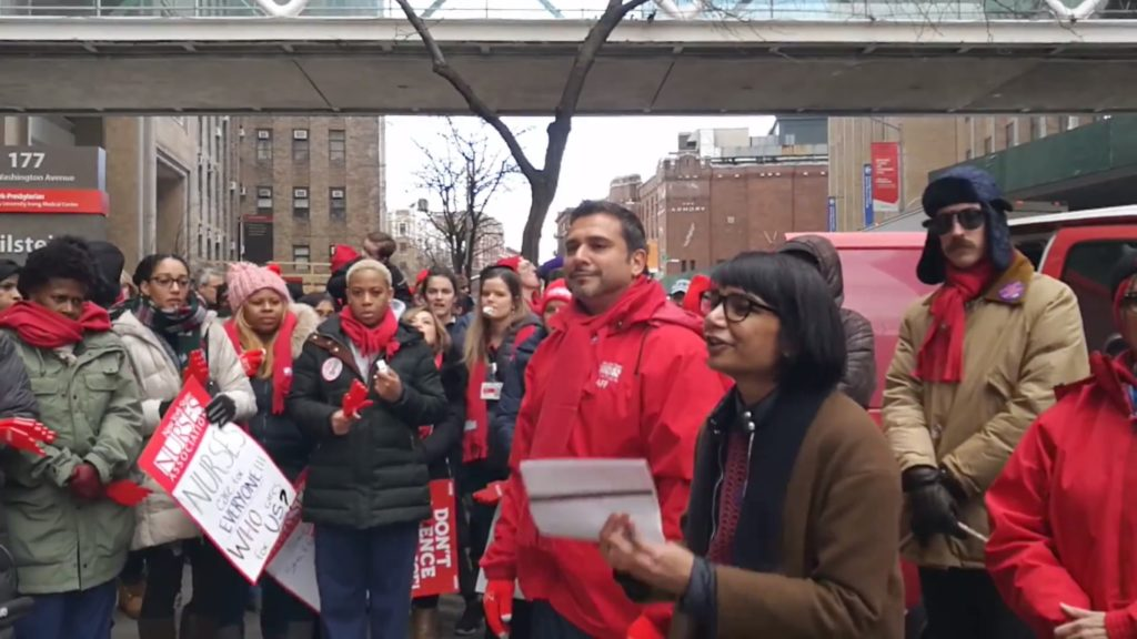 February 13: We Stand in Solidarity with Nurses at Presbyterian Hospital