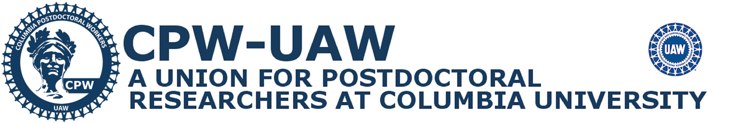 Columbia Postdoctoral Workers